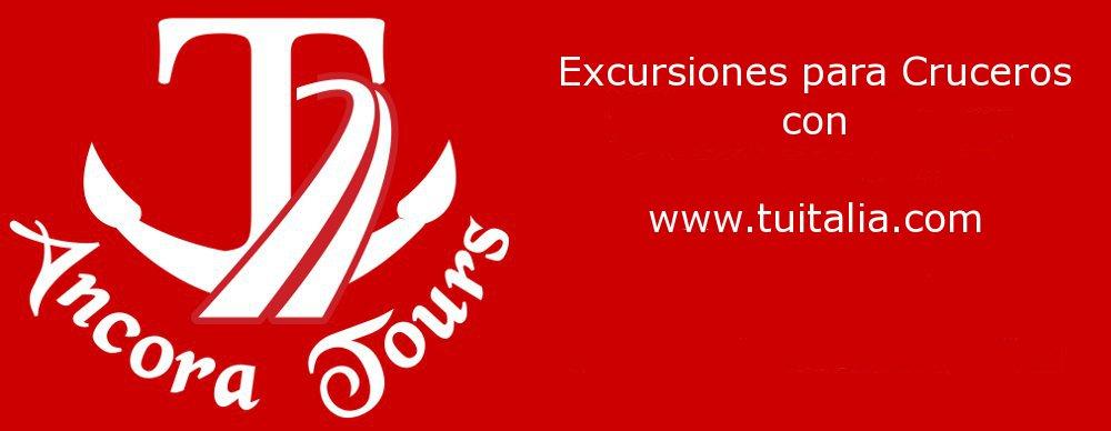 Excursiones para Cruceros Ancora Tours TU Italia